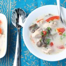 Easy Thai Chicken Soup – Paleo