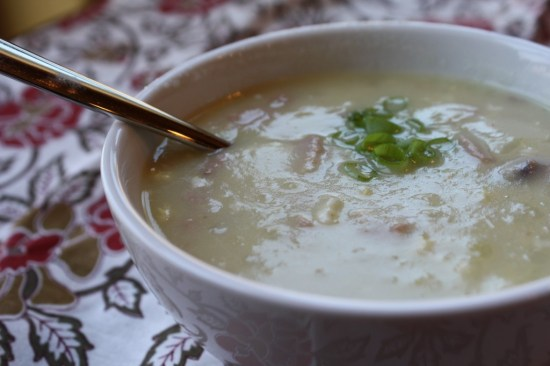 Easy Creamy Ham & Potato Soup -Dairy & Gluten Free