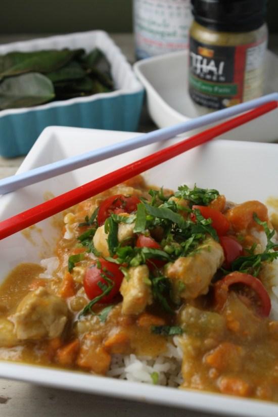 Thai Green Curry w/ Chicken