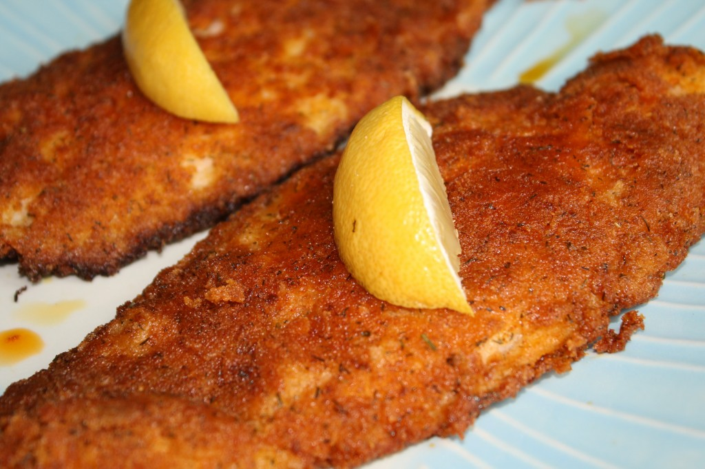 Pan Fried Fish - Gluten Free