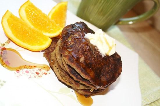 Teff-Millet Pancakes - Gluten Free & Vegan