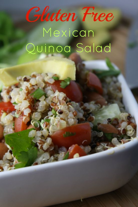 Gluten Free Mexician Quinoa Salad