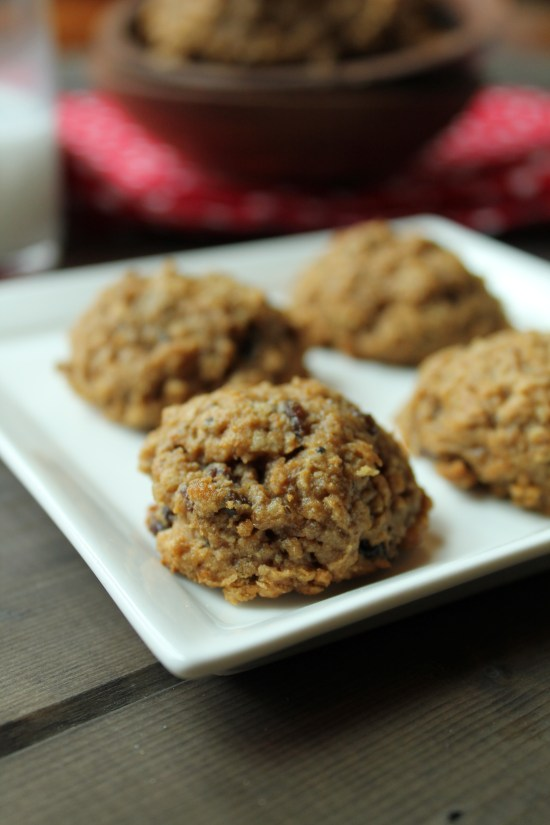 Oatmeal Raisin Cookies - GF & Vegan