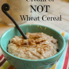 Gluten Free 'Cream of Wheat' Hot Cereal