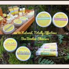 Bee Bomber 100% Natural Handmade Body Care Products – Amazing Stuff! (A Coupon Too!)