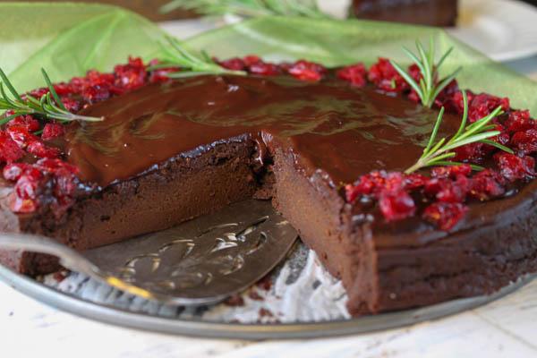 Chocolate Chestnut Cake - paleo-8418