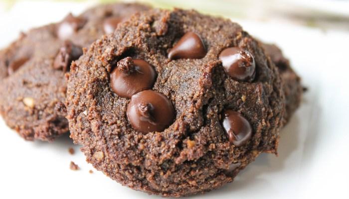 Paleo Double Chocolate Chip Cookies – Vegan