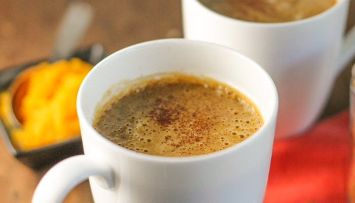 Pumpkin Bulletproof Coffee Latte – Paleo | Keto