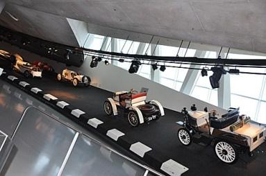 Mercedes-Benz vintage lineup