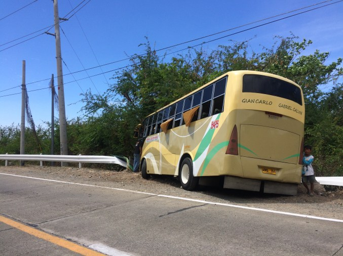 bus off track