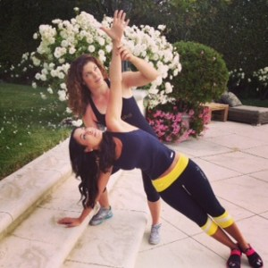 Tessie Training Time-Crunched Celebrity Tracey Edmonds