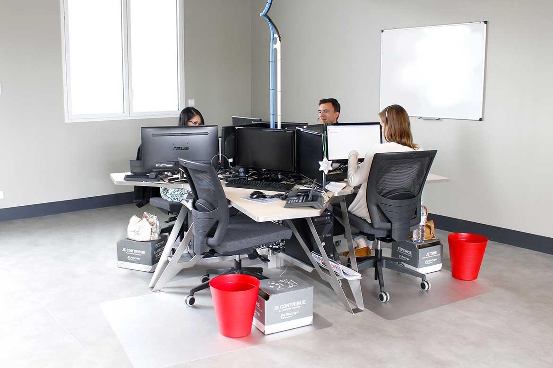 Bureau pour open space design et spécifique à découvrir achat vente