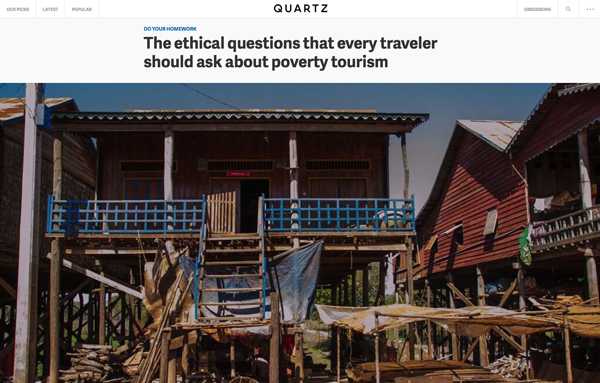 The Ethical Questions That Every Traveler Should Ask About Poverty Tourism
