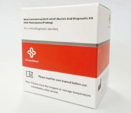 Kit RT-PCR Sansure pour détection coronavirus covid-19 Sars-cov-2