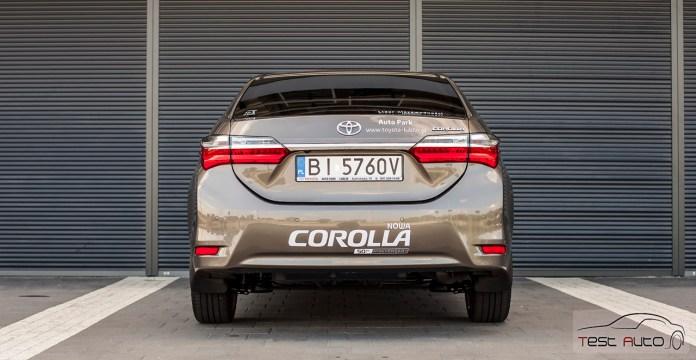 Toyota Corolla 1.6 Valvematic Prestige fot. Piotr Majka