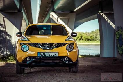 Nissan Juke fot. Marta Witkowska