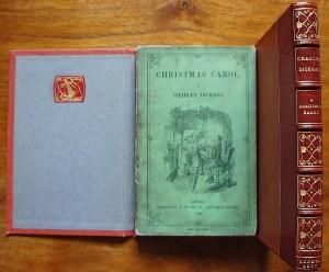 "Présentation d'une édition originale rare ""Conte de Noel "" - A Christmas Carol - de Charles Dickens ."