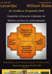 "Exposition "" 2 siècles d'Art"""