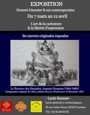 Exposition Daumier et ses contemporains à Cancon (7 mars-12 avril 2018)