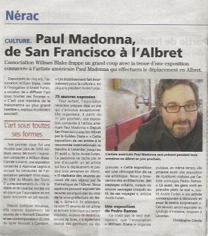 Paul Madonna, de San Francisco à l'Albret.