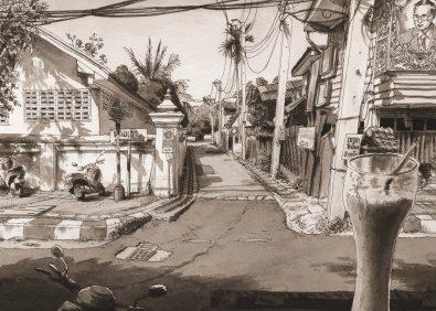Thaïland-Fruit Shake-Road-Chiang Maï