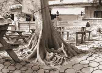 Thaïlande-Roots Wat-Phan On Tree-Chieng Mai