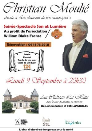 Concert Christian Moulié