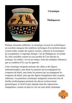 Céramique malgache