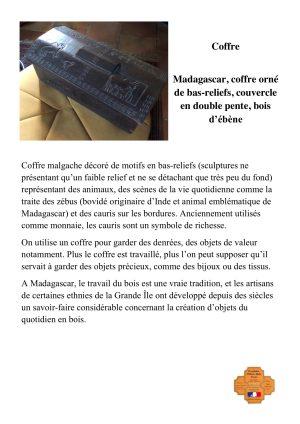 Coffre - Madagascar