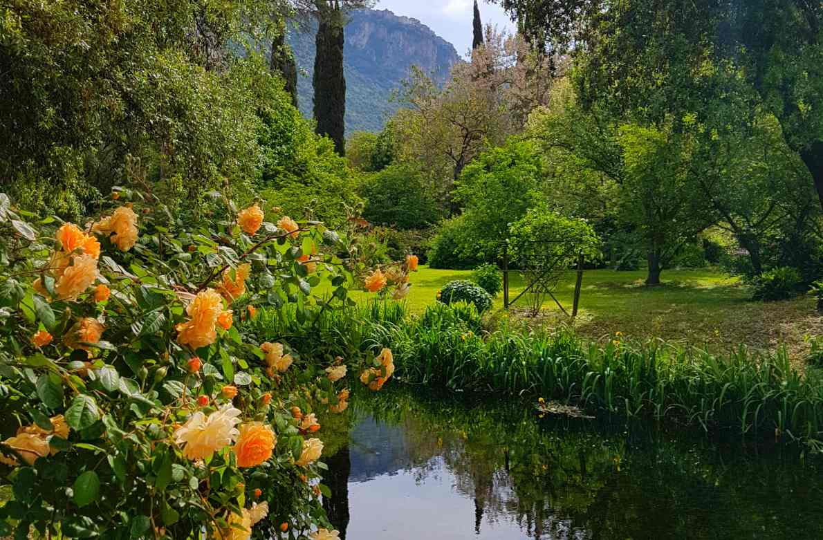 An ideal day trip from Rome, the Gardens of Ninfa is one of Italy's most beautiful parks. Read how to get to Ninfa, latest prices, and opening times. All about visiting Ninfa