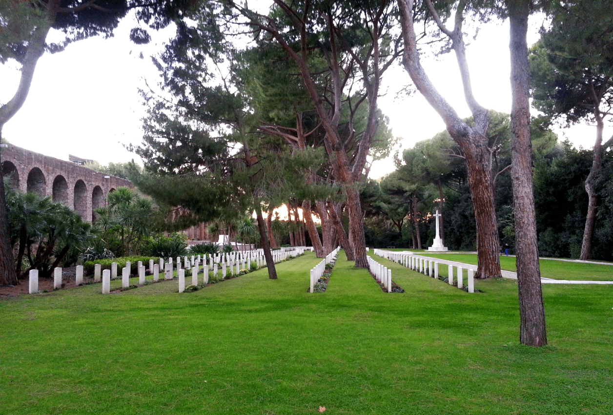 This Rome cemetery guide introduces Verano Cemetery, the Non-Catholic Cemetery and the Commonwealth Cemetery, Rome.