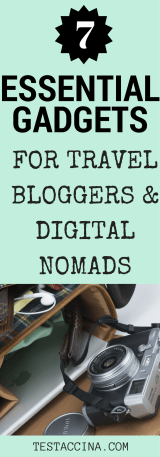 7 smart peices of technology to help you write, create and share on the road.