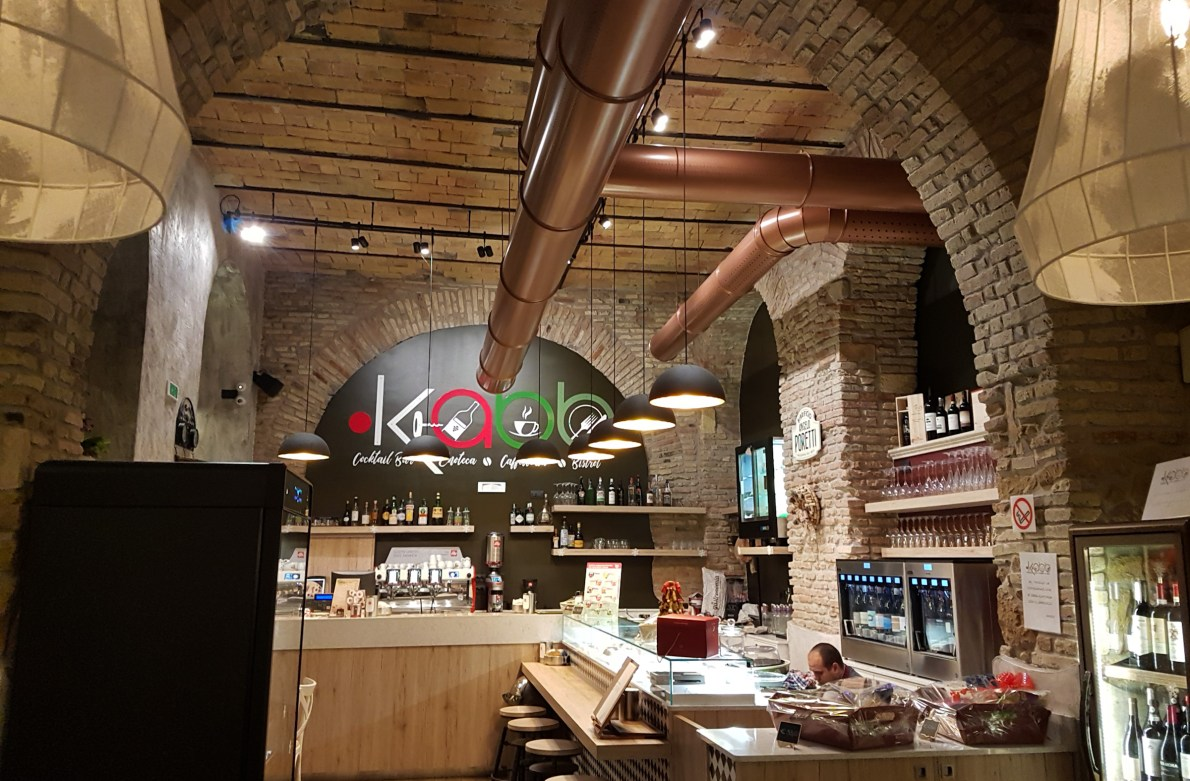 Make it a date at Kabb near Porta Pia for great value dining throughout the day