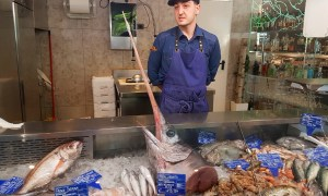 3 great ideas for eating fish in Rome, including Ristorante Chinappi, Livello1 in EUR, and Eataly Rome. Some of the best fish restaurants in Rome.