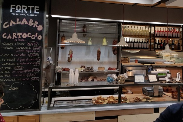 Calabrian restaurant and food lab Forte is a box of delights in Rome Tiburtina