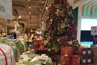 Head over to Eataly at Christmas for stocking fillers and a special Christmas supper featuring Michelin starred chefs.