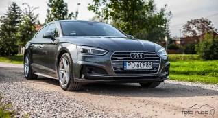 Audi A5 Sportback fot. Piotr Majka