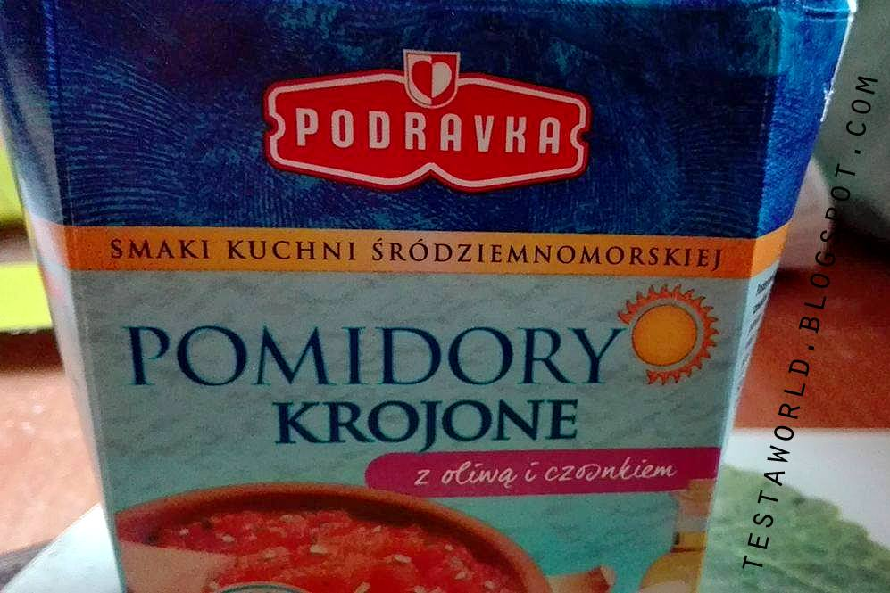 Podravka pomidory krojone