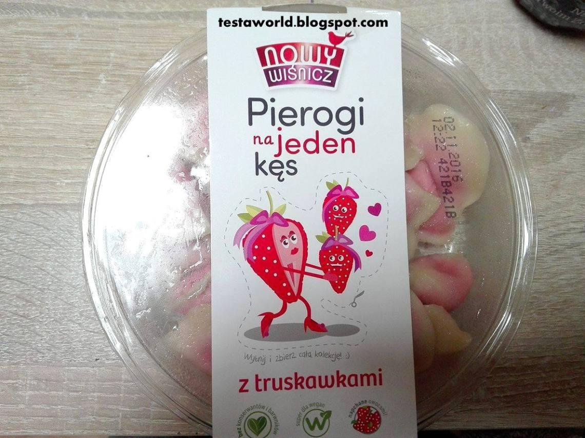 Pierogi truskawkowe Nowy Wiśnicz