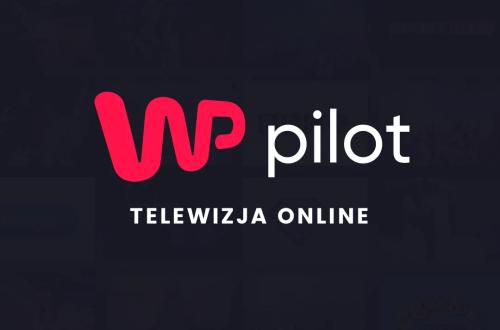 WP pilot strona startowa na smartphonie
