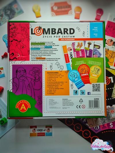 Lombard Życie pod zastaw ogólne informacje