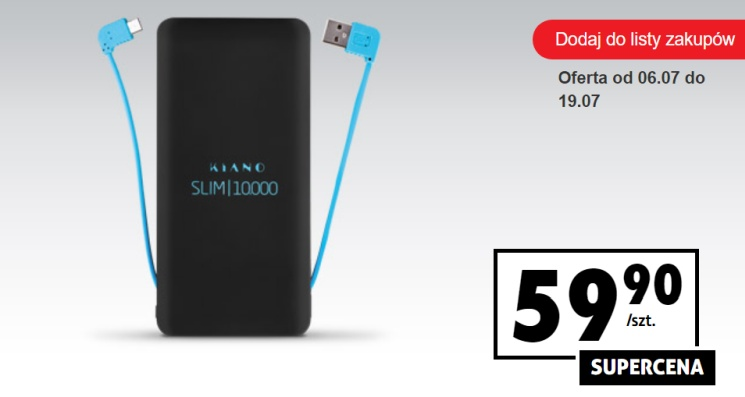 tani powerbank 10000