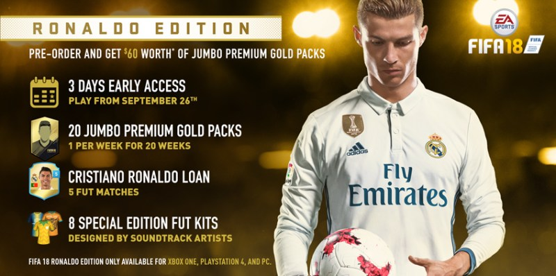 FIFA 18 DEMO edycja ronaldo