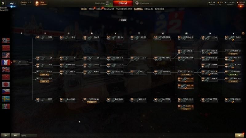 Czołgi Francja - PORADNIK WOT