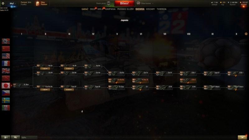 Czołgi Japonia - PORADNIK WOT