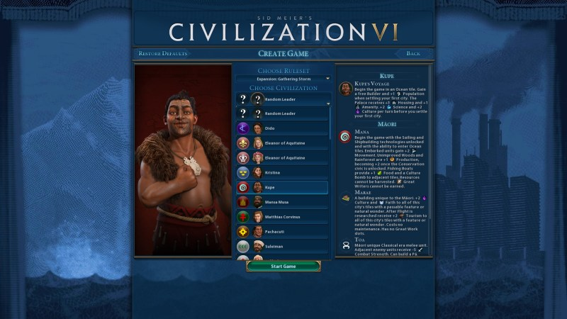 gathering storm civilization