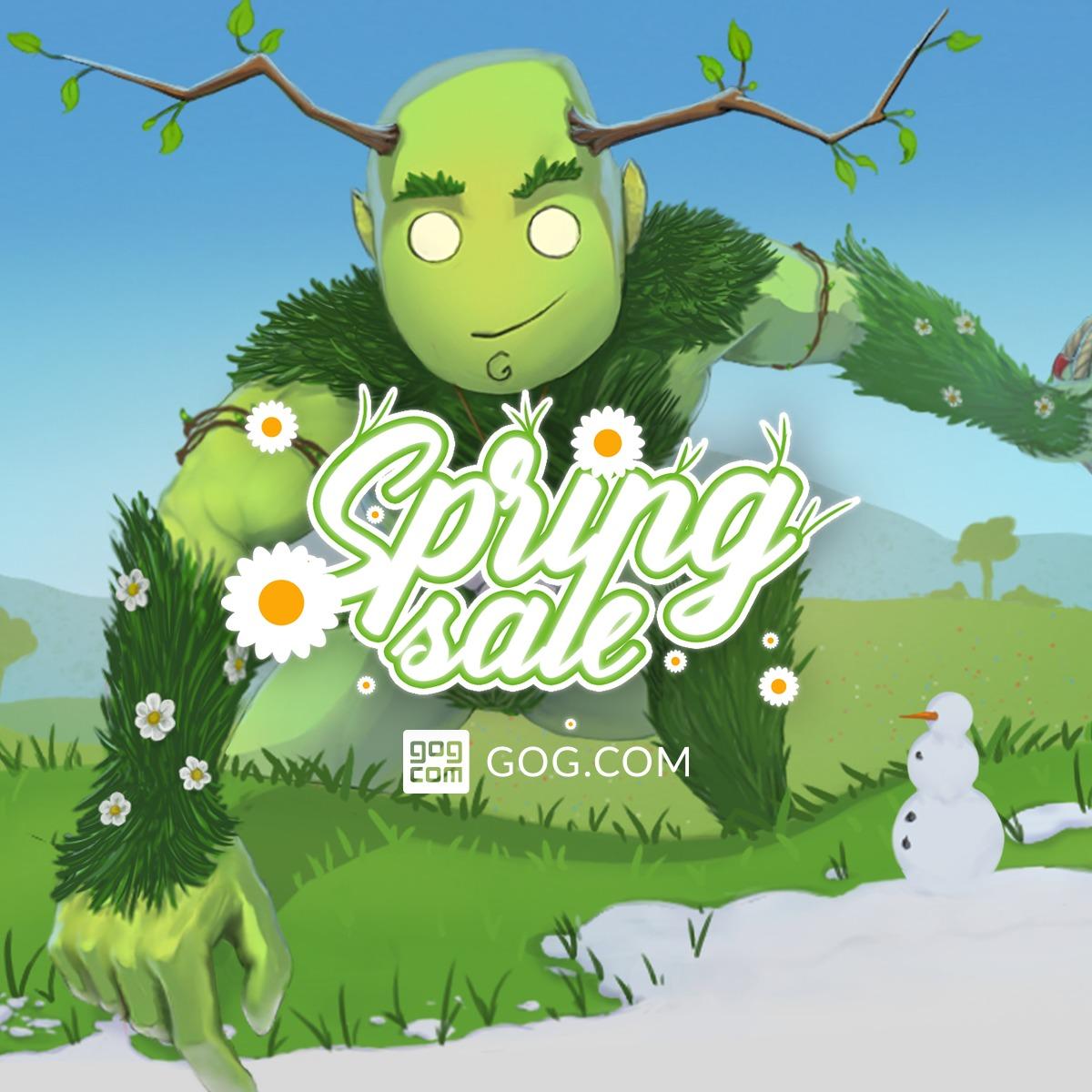 Wiosenna promocja na GOGu!