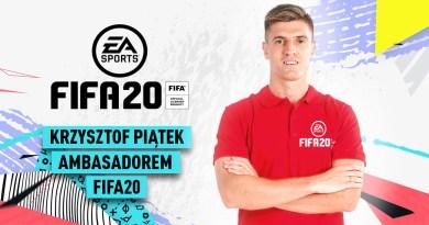 Krzysztof Piątek został polskim ambasadorem FIFA 20