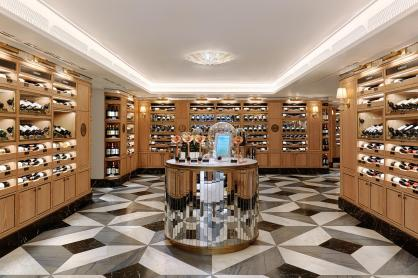 Harrods Wine shop Testigroup
