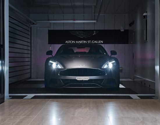 Show-Room Aston Martin - San Gallo